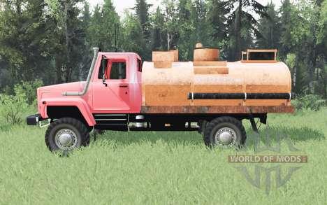 ГАЗ САЗ 2506 для Spin Tires