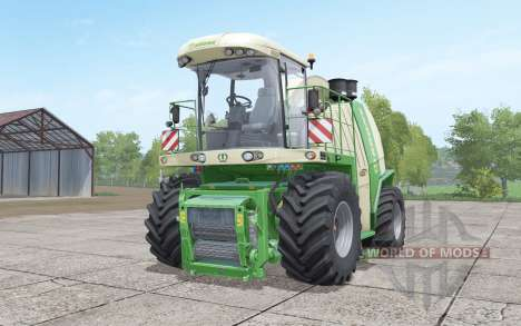 Krone BiG X 1100 with bunker для Farming Simulator 2017