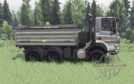 Tatra Phoenix T158-8P5 6x6 2011 dark grey для Spin Tires