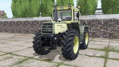 Mercedes-Benz Trac 1500 Turbo 1980 для Farming Simulator 2017