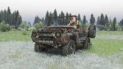 УАЗ 469 ржавый