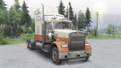 Kenworth W900 timber truck для Spin Tires
