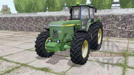 John Deere 4655 для Farming Simulator 2017