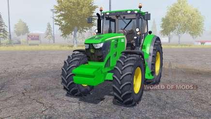 John Deere 6210R weight для Farming Simulator 2013