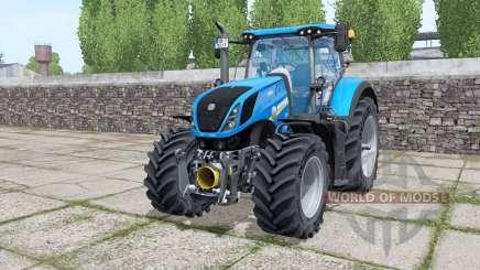 New Holland T7.290 Michelin XeoBib для Farming Simulator 2017