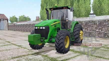 John Deere 7205J для Farming Simulator 2017
