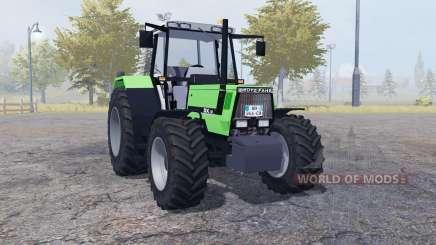 Deutz-Fahr DX 6.06 dual rear для Farming Simulator 2013