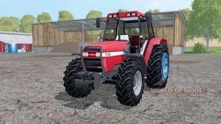 Case IH 5130 Maxxum change wheels для Farming Simulator 2015