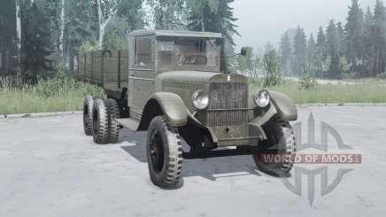 ЗиС-6 1933 для MudRunner