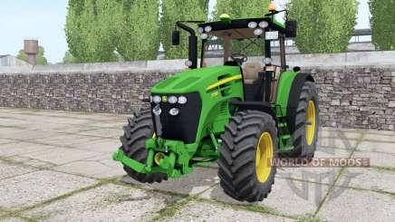 John Deere 7730 motor selection для Farming Simulator 2017