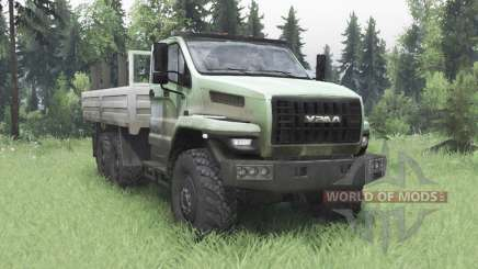 Урал 4320-6988-72Е5И06 Next двухрядная кабина для Spin Tires