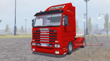 Scania 143M 420 Streamline 1991 для Farming Simulator 2013