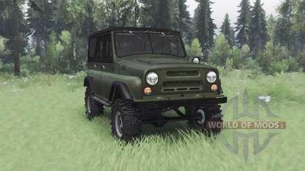 УАЗ 469 v1.1 для Spin Tires