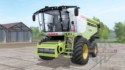 Claas Lexion 780 with headers для Farming Simulator 2017