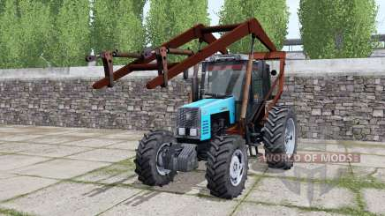 МТЗ-1221 Беларус стогомёт для Farming Simulator 2017