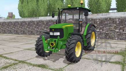 John Deere 5080M loader mounting для Farming Simulator 2017