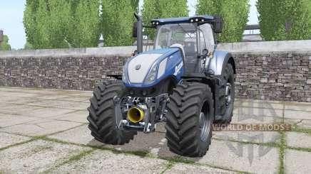 New Holland T7.290 Heavy Duty Blue Power для Farming Simulator 2017