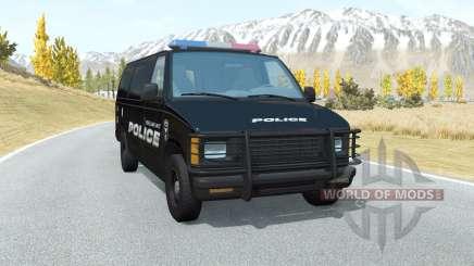 Gavril H-Series Belmont Police для BeamNG Drive