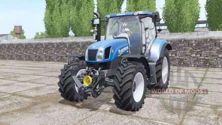 New Holland T6.155 Tier 4A для Farming Simulator 2017