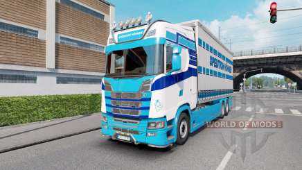Scania S Tandem Spedition Hohner для Euro Truck Simulator 2