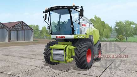 Claas Jaguar 840 with Orbis 750 для Farming Simulator 2017