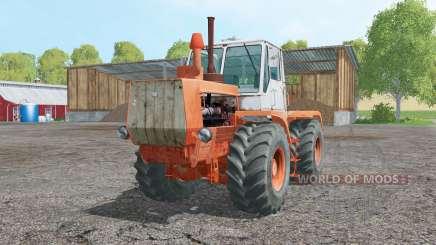 Т-150К мягко-оранжевый для Farming Simulator 2015