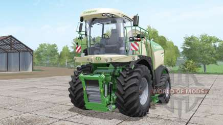 Krone BiG X 580 long pipe для Farming Simulator 2017