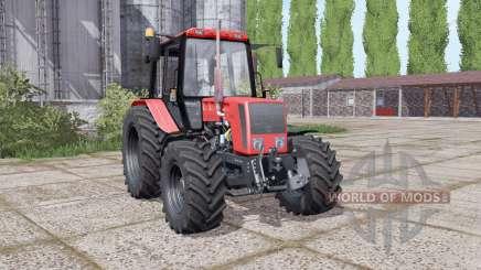 Беларус 826 с выбором конфигураций для Farming Simulator 2017