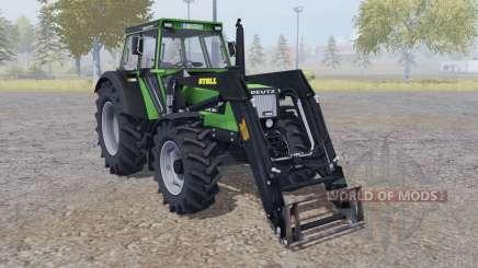 Deutz DX 90 front loader для Farming Simulator 2013