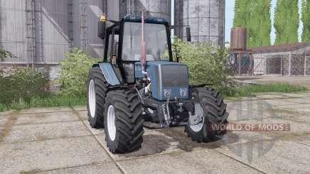Беларус 826 с креплением погрузчика для Farming Simulator 2017