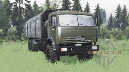 КамАЗ 43118 длинная база для Spin Tires