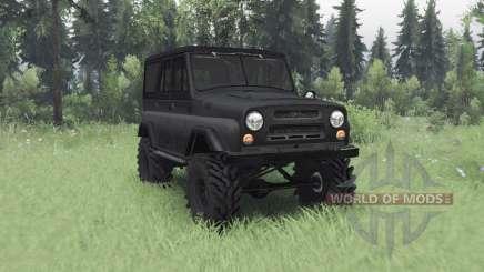 УАЗ 469 тёмно-серый для Spin Tires