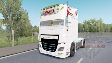 DAF XF Super Space Cab custom для Euro Truck Simulator 2
