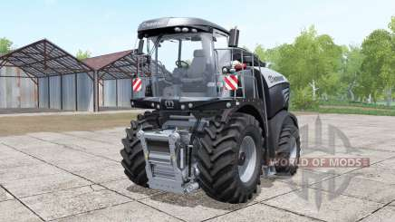 Krone BiG X 580 black для Farming Simulator 2017