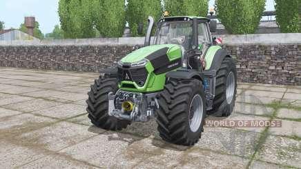 Deutz-Fahr Agrotron 9340 TTV Power Engine для Farming Simulator 2017