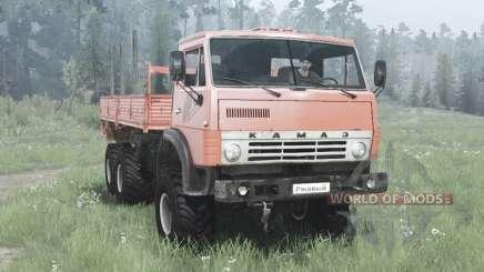 КамАЗ 4310 6x6 мягко-красный для MudRunner