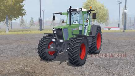 Fendt Favorit 818 twin wheels для Farming Simulator 2013