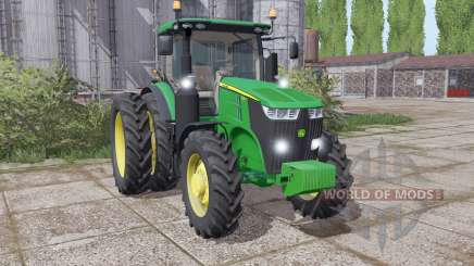 John Deere 7210R configure для Farming Simulator 2017