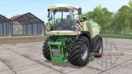 Krone BiG X 580 with bunker для Farming Simulator 2017