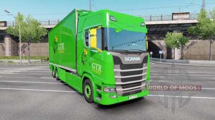 Scania S 730 Highline Tandem v3.0 для Euro Truck Simulator 2