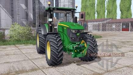 John Deere 6250R Power Edition для Farming Simulator 2017