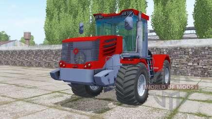 Кировец К-744Р4 ярко-красный для Farming Simulator 2017