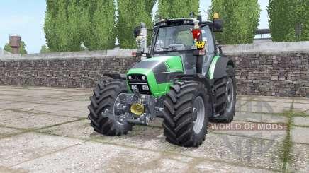 Deutz-Fahr Agrotron 620 TTV interactive control для Farming Simulator 2017