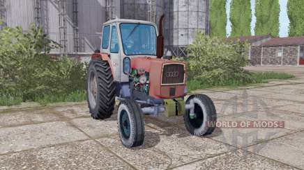 ЮМЗ 6Л серо-красный для Farming Simulator 2017