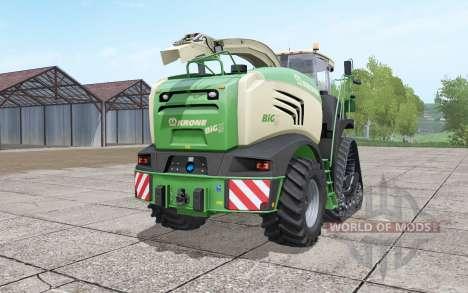Krone BiG X 580 crawler для Farming Simulator 2017