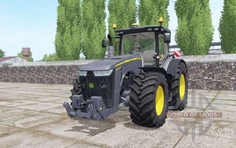 John Deere 8270R Black Edition для Farming Simulator 2017
