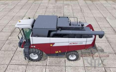 Акрос 530 выбор двигателя для Farming Simulator 2017