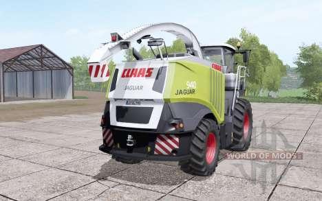 Claas Jaguar 940 wide tyre для Farming Simulator 2017