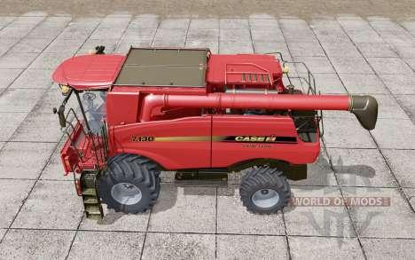 Case IH Axial-Flow 7130 Increased emptying rate для Farming Simulator 2017
