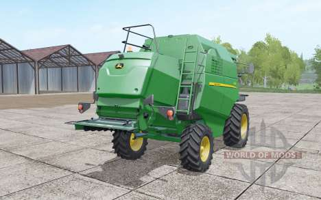 John Deere W330 retexture для Farming Simulator 2017